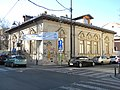 Bucuresti, Romania. Casa arhitectului Ion Mincu. Mazgalita cu graffiti.jpg