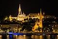 Budapest by night - Mátyás-templom - panoramio.jpg