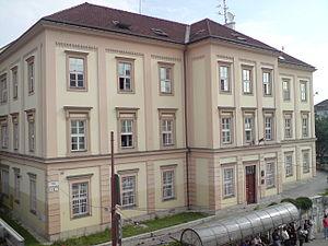 Bratislava hlavná stanica - The original station building from 1848