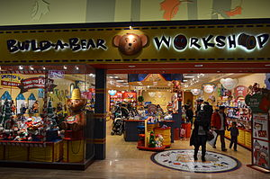 Build-A-Bear Workshop - A Build-A-Bear Workshop at Vaughan Mills in Toronto