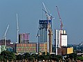 Building construction at Tottenham Hale, Haringey 6.jpg
