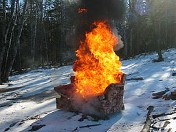 Burning Couch