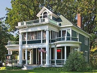 National Register of Historic Places listings in Morrison County, Minnesota - Image: Burton Rosenmeier House