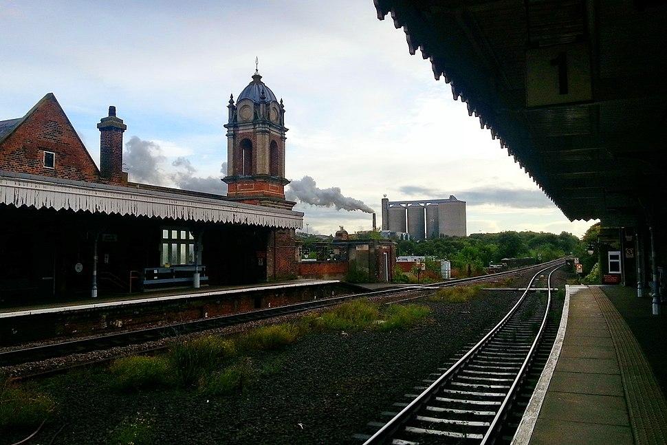 Bury St Edmunds Rail Station, 26 Sep, 2012