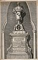 Bust of Abraham Cowley in Poet's Corner, Westminster Abbey, Wellcome V0018688.jpg