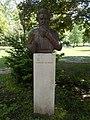 Bust of Miklos Izso by Zsigmond Kisfaludi Strobl, 2017 Margaret Island.jpg