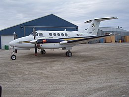 C-GBYN Adlair Aviation Ltd Beechcraft King Air 200 (BE20) 03.JPG