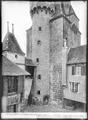 CH-NB - Aigle, Château, Donjon, vue partielle - Collection Max van Berchem - EAD-7161.tif