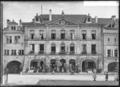 CH-NB - Avenches, Hôtel de Ville, Façade, vue partielle - Collection Max van Berchem - EAD-7184.tif