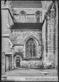CH-NB - Lausanne, Cathédrale protestante Notre-Dame, vue partielle extérieure - Collection Max van Berchem - EAD-7291.tif