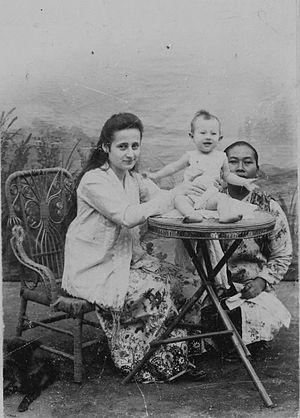 Bahasa Indonesia: Foto. Potret Anne (mungkin 1...