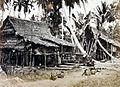 COLLECTIE TROPENMUSEUM Mensen uit een Batak dorp brengen een bezoek aan Laboehandeli TMnr 60011099.jpg