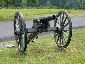 3rd Arkansas Light Artillery - A 3 Inch Rifled Gun