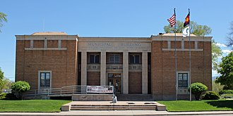 Fremont County, Colorado - Image: Cañon City Municipal Building