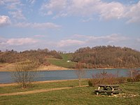 Cabournieu Reservoir, Gers, France.JPG