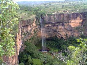 Chapada dos Guimarães Mato Grosso fonte: upload.wikimedia.org