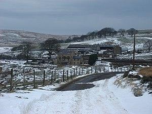 Cadshaw - Image: Cadshaw farm on the A666 geograph.org.uk 136428