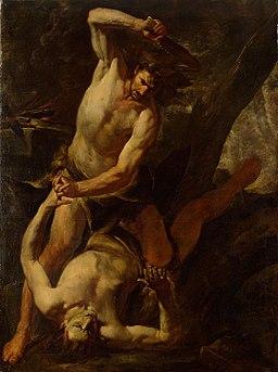 Caino uccide Abele - Assereto