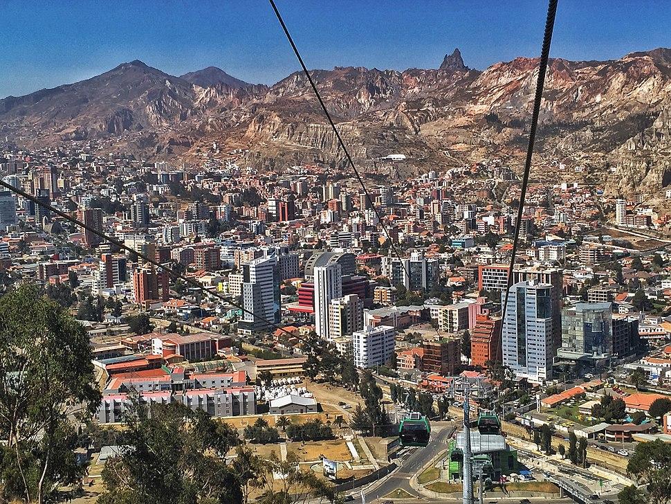 Calacoto La Paz, Bolivia