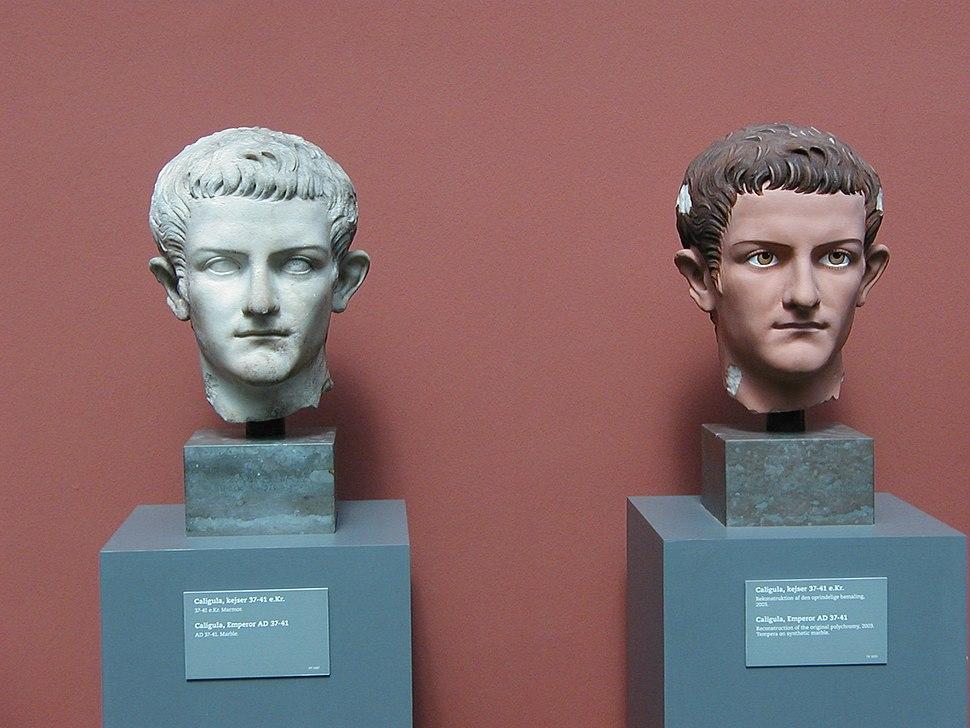 Caligula Rekonstruktion Polychromie