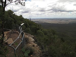 Goobang National Park - The view south-west from Caloma lookout