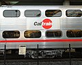 Caltrain gallery car at Millbrae station, January 2011.jpg