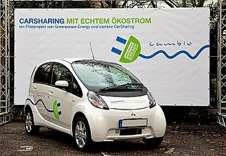Cambio CarSharing - cambio (CarSharing) Electric vehicle in Hamburg and Cologne, Germany