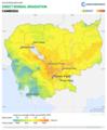 Cambodia DNI Solar-resource-map GlobalSolarAtlas World-Bank-Esmap-Solargis.png