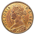 Canada Newfoundland Victoria Cent 1885 (obv).jpg