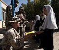 Canadian Lieutenant Reaches out to the local Afghan community (5063722349).jpg