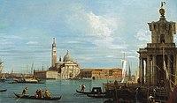 Canaletto (Venice 1697-Venice 1768) - Venice, The Punta della Dogana and S. Giorgio Maggiore - RCIN 400971 - Royal Collection.jpg