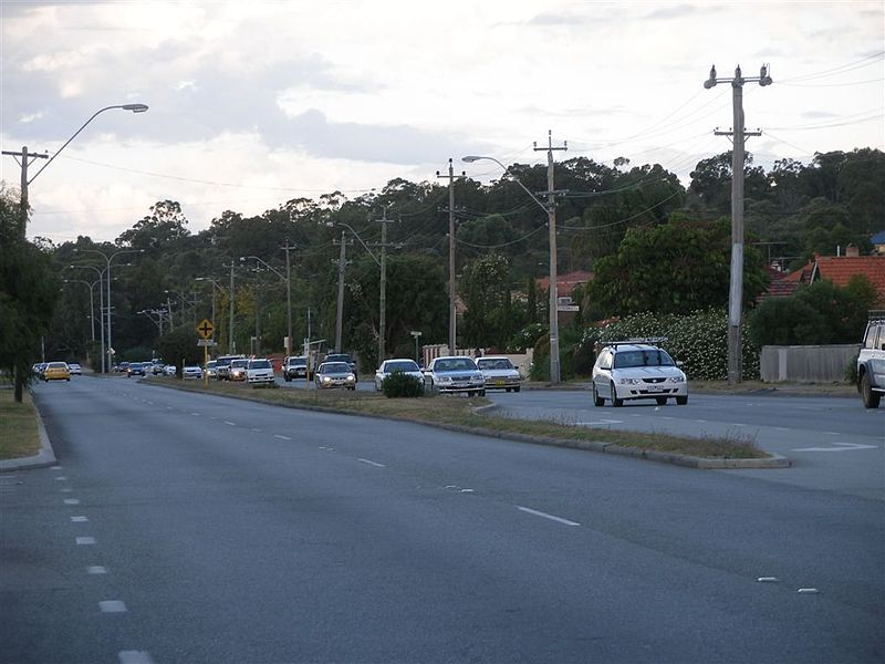 Right turning changes made on Canning Highway