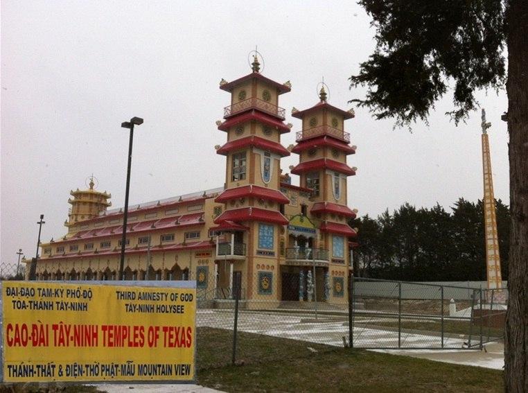 Cao Đài temple in Dallas, Texas