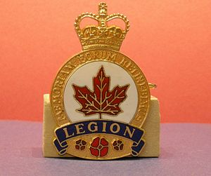 Royal Canadian Legion - Royal Canadian Legion badge