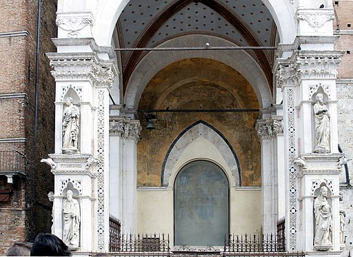Cappella di Piazza, Palazzo Pubblico, Siena