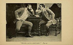 Morton Selten - Morton Selten (left) and E. H. Sothern in the Broadway comedy Captain Lettarblair (1891)