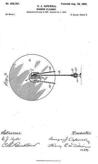 Windscreen wiper - Capwell 1898