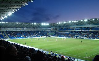 Cardiff City Stadium stadium in Wales