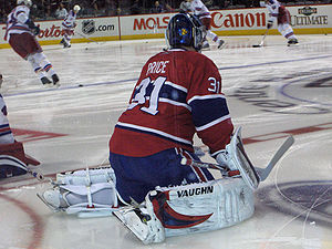 Carey Price - Price warming up in 2009