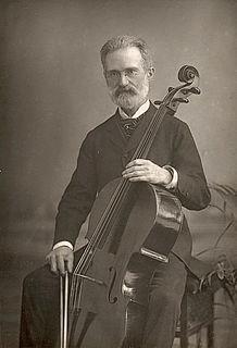 Carlo Alfredo Piatti Italian cellist