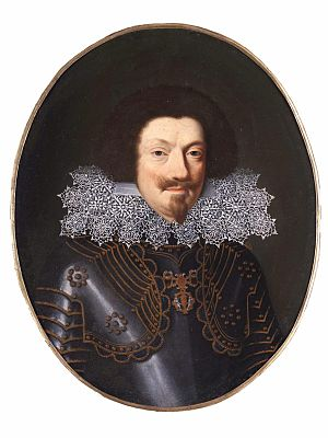 Charles Gonzaga, Duke of Mantua and Montferrat - Engraving of Charles Gonzaga