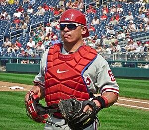 Carlos Ruiz (baseball) - Ruiz with the Philadelphia Phillies in 2011