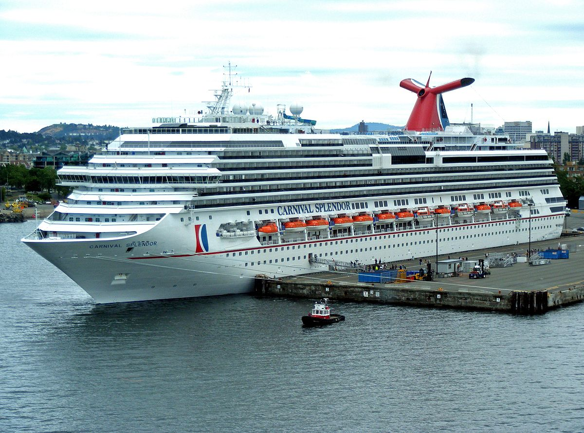 Carnival Splendor Wikipedia - Cruise ship that lost power 2018