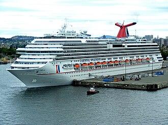 Concordia-class cruise ship - Image: Carnival Splendor 2009