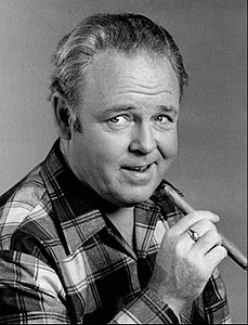 Carrol O'Connor as Archie Bunker.JPG