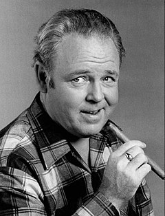 Carroll O'Connor Carrol O'Connor as Archie Bunker.JPG