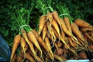 farvestof i gulerødder