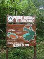 Cartel mapa del Parque Nacional El Guacharo.jpg