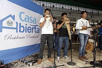 Music of El Salvador - Salvadoran indigenous musicians