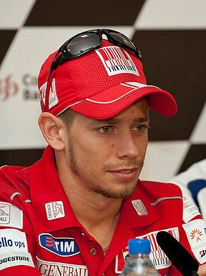 English: Casey Stoner 2010 Qatar